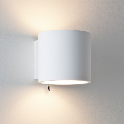 BRENTA -  Kinkiet  gipsowy z włącznikiem Astro Lighting 0916