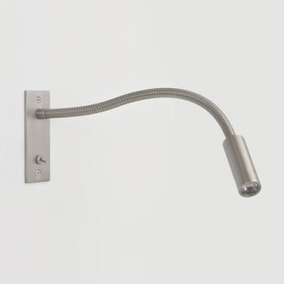 LEO SWITCHED nikiel matowy   - Kinkiet do czytania LED z włącznikiem Astro Lighting 7051