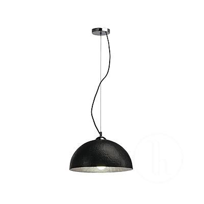FORCHINI, lampa wisząca, PD-2, okrągła, czarna/złota, E27, maks. 40 W - Lampa wisząca Spotline 155510