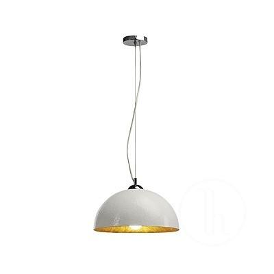 FORCHINI, lampa wisząca, PD-2, okrągła, biała/złota, E27, maks. 40 W - Lampa wisząca Spotline 155511