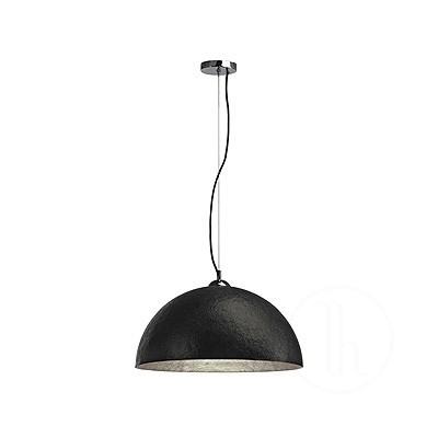 FORCHINI, lampa wisząca, PD-1, okrągła, czarna/srebrna, E27, maks. 40 W -  Spotline 155520