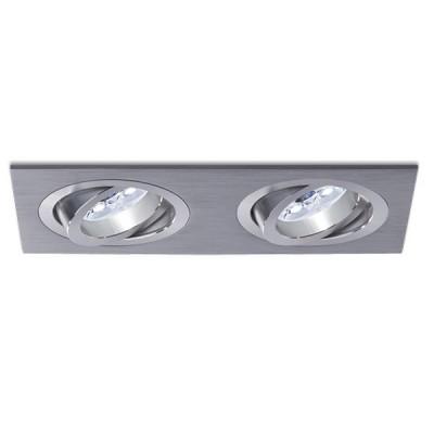 BPM 3012 GU10 230V oczko halogenowe srebrno szare