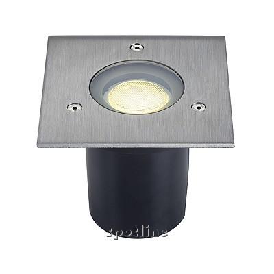 ADJUST SQUARE GU10, 35W - lampa gruntowa  Spotline 228214