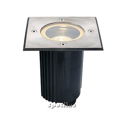 DASAR 115 ADJUST, GU10, do zabudowania, kwadratowa - lampa gruntowa  Spotline 229324