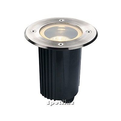 DASAR 115 ADJUST, GU10, do zabudowania, okrągła - lampa gruntowa  Spotline 229320