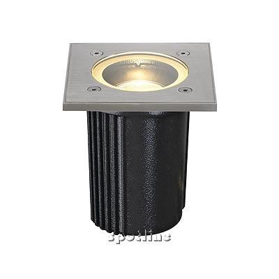 DASAR EXACT GU10, kwadratowa, do montażu w podłożu - lampa gruntowa  Spotline 228434