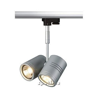 Bima II oprawa do systemów szynowych 3 - fazowych, srebrno - szara  -  Spotline 152232