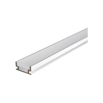 PROFIL LED HERMETYCZNY HR-ALU 2M  - PROFIL LED ANODOWANY do montażu w podłodze