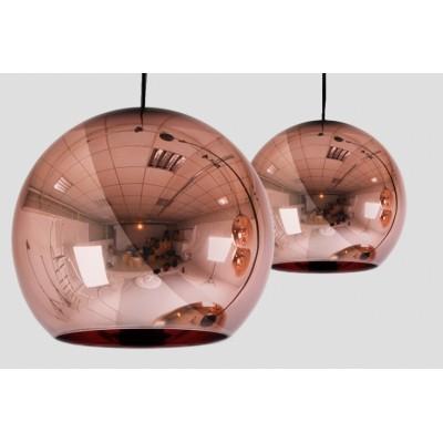 Lampa Brass 25 - Lampa wisząca miedziana