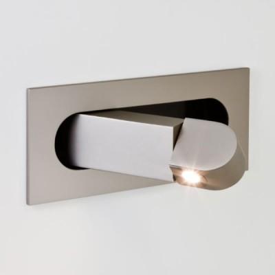 DIGIT nikiel mat - Kinkiet LED do czytania Astro Lighting 7165