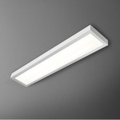 SET SLEEK 60 FLUO 24W hermetic natynkowy - Plafon IP54 Lampa sufitowa Aquaform (40150-03)