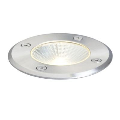 RIZZ okrągła aluminium - Oprawa najazdowa LED IP65 na zewnątrz Red R10376