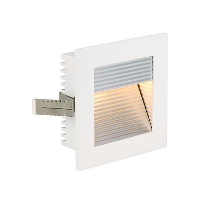 FLAT FRAME CURVE wbudowana, kwadratowa, biały, G4, max. 20W -  Oprawa wpuszczana schodowa Spotline 112771