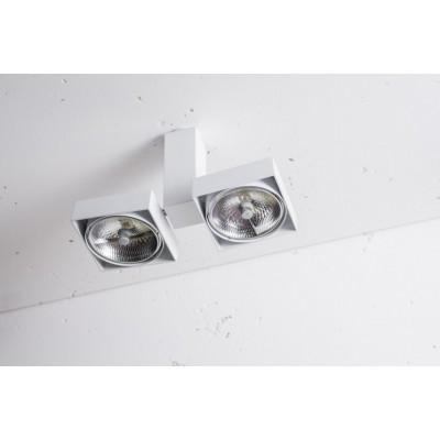 ROBOTIC Q2 2x50W -  Reflektor Lampa sufitowa Labra 2-0122C