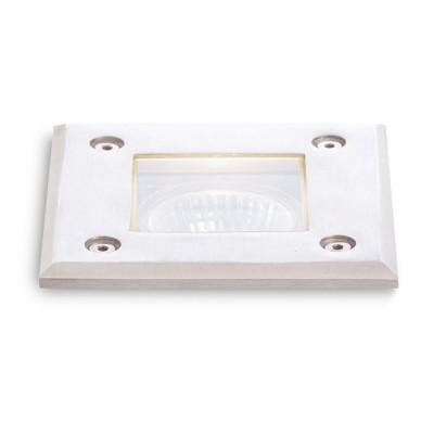 ORBU SQ kwadratowa - Lampa do wbudowania w ziemię IP65 na zewnątrz Red R10556