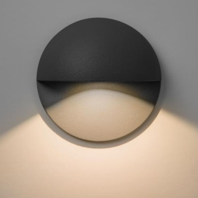 TIVOLI LED BLACK  - Lampa ścienna na zewnątrz Astro Lighting 7264