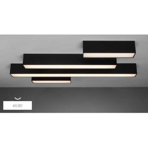 6080 On 60 W 2700k Lampa Sufitowa Led 60cm Natynkowy Profil