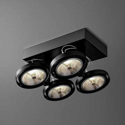 BARES 111x4 SL Phase-Control reflektor  - Lampa sufitowa Aquaform (14914-02)