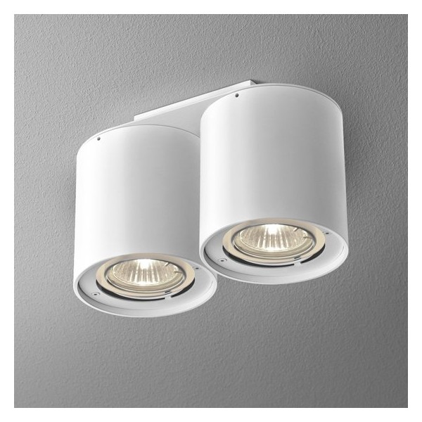 Tuba Distance 50x2 230v Natynkowa Lampa Sufitowa Aquaform