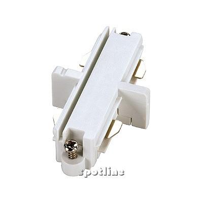 Łącznik do szyny 1 - fazowej , biały- Spotline 143091