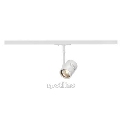 Bima 1 biała z adapterem 1 fazowym 143441-  Lampa do szyny 1 fazowowej Spotline