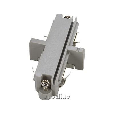 Łącznik do szyny 1 - fazowej , srebrnoszary - Spotline 143092