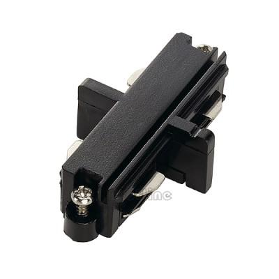 Łącznik do szyny 1 - fazowej , czarny - Spotline 143090