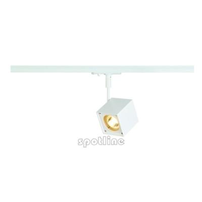 Altra Dice biała z adapterem 1 fazowym 143351 -  Lampa do szyny 1 fazowej Spotline