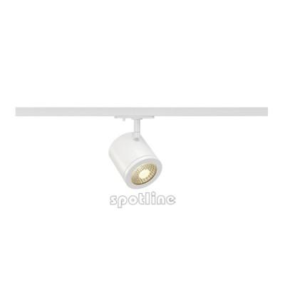 Enola_C 35° biała z adapterem 1 fazowym LED 143941 -  Lampa do szyny 1 fazowej Spotline