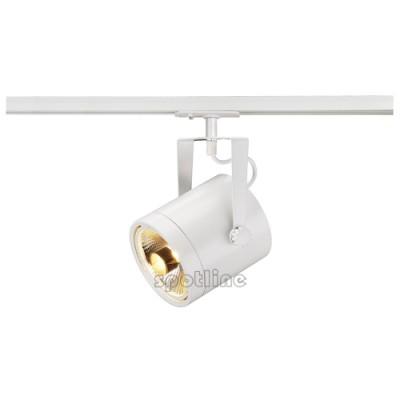 Euro Spot ES111 biały z adapterem 1 fazowym 143801 -  Lampa do szyny 1 fazowowej Spotline