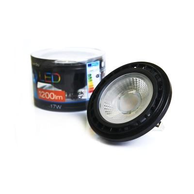 Żarówka LED QR111 17W G53 LL153172 black Azzardo