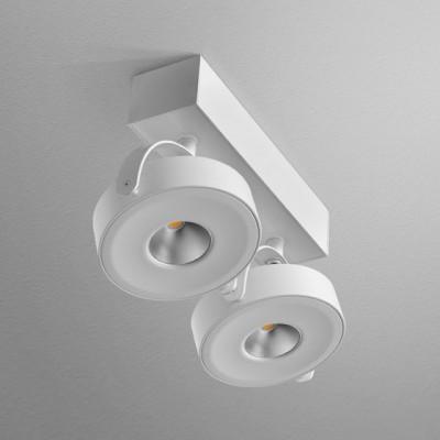 CERES 111x2 R QRLED L8 LED WW reflektor (3000K) - Lampa sufitowa  Aquaform 12524L8-03