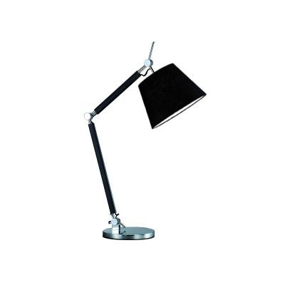 ZYTA S TABLE BLACK - Lampa stołowa biurkowa Azzardo