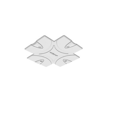 Zaślepka Maskująca do syst. Wpusz. Czarny Unipro Aquaform CP3B-02 Lumisys