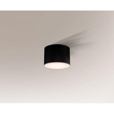 Suwa 8001 Ip44 Shilo Biały Czarny Szary Lampa Sufitowa