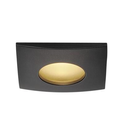 Out 65 Led kwadratowy czarny - Oprawa wpuszczana na zewnatrz Spotline114470