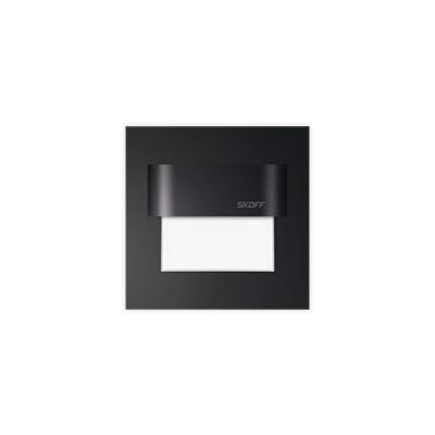 Tango czarny mat - Lampa schodowa kinkiet LED Skoff