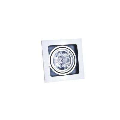 SISTO 1 WH/BK/WH WPUST - Oprawa wpuszczana Ar111, QR111 Azzardo GM2109 WH/BK/WH LAMPA