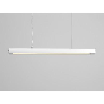 Lampa wisząca LINE PLUS M – biały - Lampa wisząca LED  profil Customform