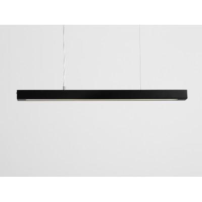 Lampa wisząca LINE PLUS M – czarny - Lampa wisząca LED profil Customform