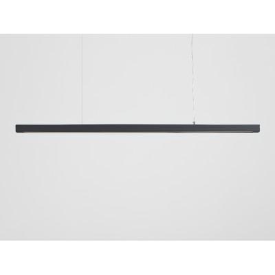 Lampa wisząca LINE PLUS XL – grafitowy - Lampa wisząca LED profil Customform