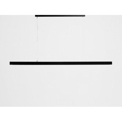 Lampa wisząca LINE PLUS XL – czarny - Lampa wisząca LED profil Customform