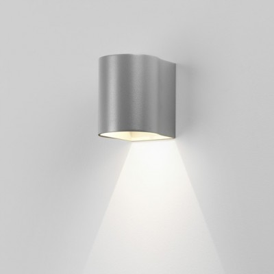 Dunbar 100 LED 8059 srebrny -  Kinkiet LED na elewacje  Astro Lighting 8059