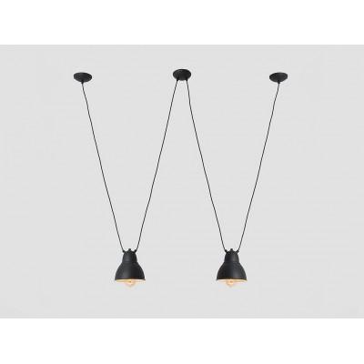 Lampa wisząca COBEN HANGMAN 2 – czarny -  Lampa sufitowa wisząca Customform