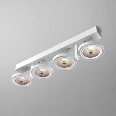 BARES 111x4 R reflektor  - Lampa sufitowa plafon Aquaform (15714-02)
