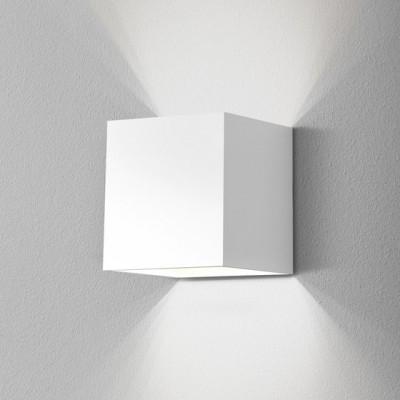 MINI CUBE EV LED WW kinkiet  barwa ciepła biała - Kinkiet LED Aquaform ( 25671EV-03)