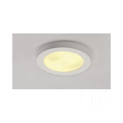 Lampa sufitowa GL 105 E27, okrągła, biały gips, maks. 15 W- Lampa sufitowa gipsowa Spotline 148001