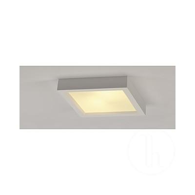 GL 104 E27- Lampa sufitowa gipsowa kwadratowa Spotline 148002