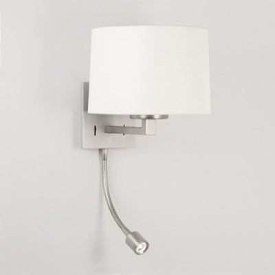 AZUMI LED CLASSIC nikiel mat - Kinkiet do czytania Astro Lighting 0790