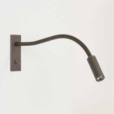 LEO SWITCHED bronze - Kinkiet do czytania LED z włącznikiem Astro Lighting 7052